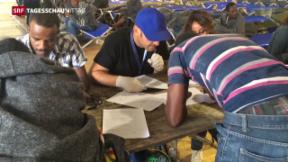 Video «Umverteilung der Flüchtlinge in Italien» abspielen