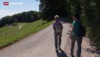 Video «Immer mehr asphaltierte Wanderwege» abspielen