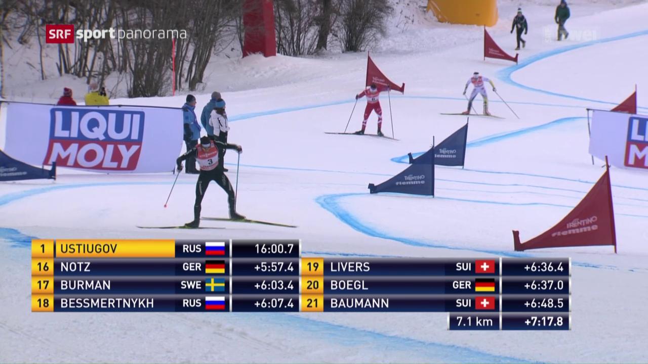 Cologna beendet Tour de Ski auf dem Podest