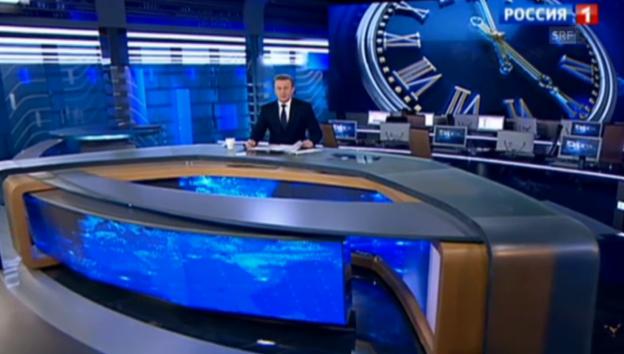 Video «Schlagzeilen einer russischen Nachrichtensendung» abspielen