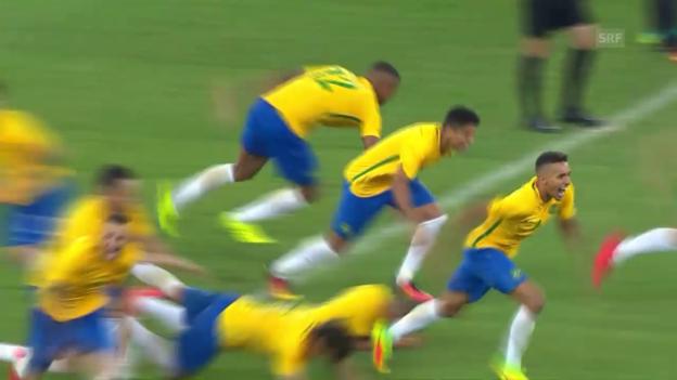 Video «Brasiliens Fussballer rehabilitieren sich» abspielen