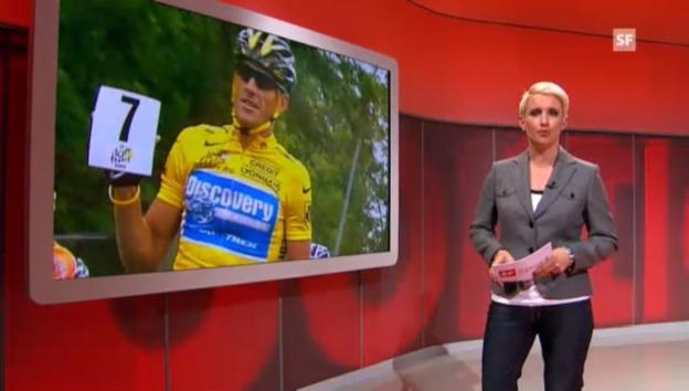 Video ««sportlounge»-Beitrag zum Fall Armstrong» abspielen