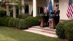Video «Handelskrieg zwischen USA und EU vorerst abgewendet» abspielen
