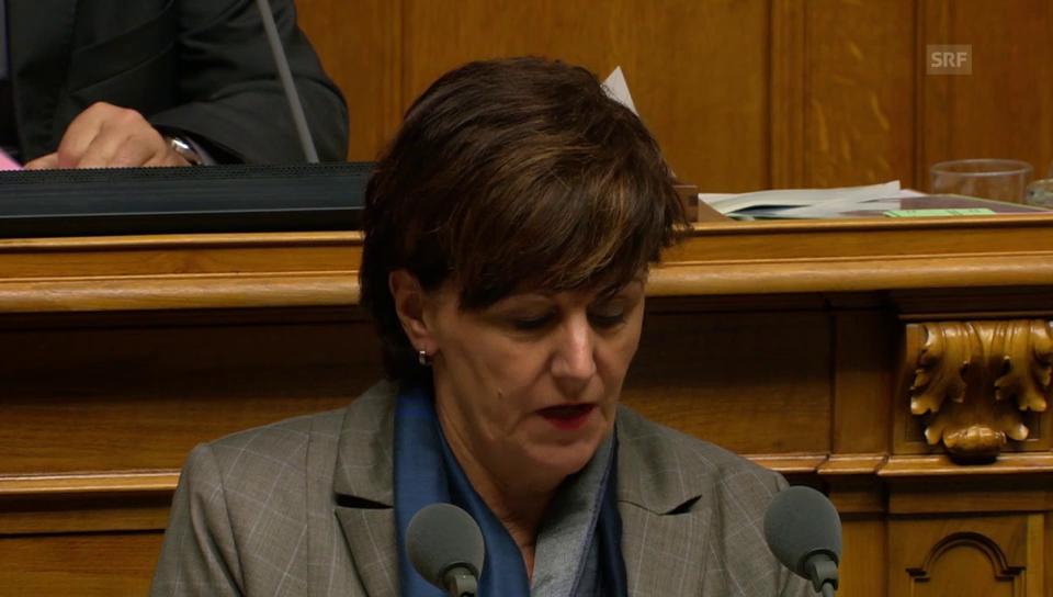 Ida Glanzmann-Hunkeler: Schweiz wird zur Drehscheibe für kriminelle Organisationen