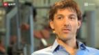 Video «Fabian Cancellara – ein Gespräch über Vaterfreuden und die Angst vor dem Risiko» abspielen
