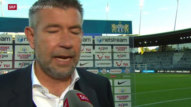 Video «Fussball: Super League, FCZ - FCB, Nachbetrachtung» abspielen