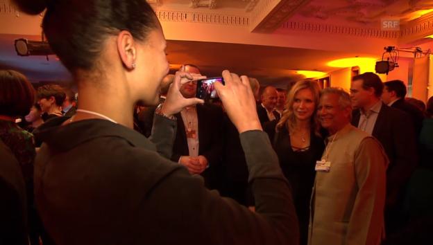 Video «Die Burda-Party am WEF: Ist Feiern angebracht?» abspielen