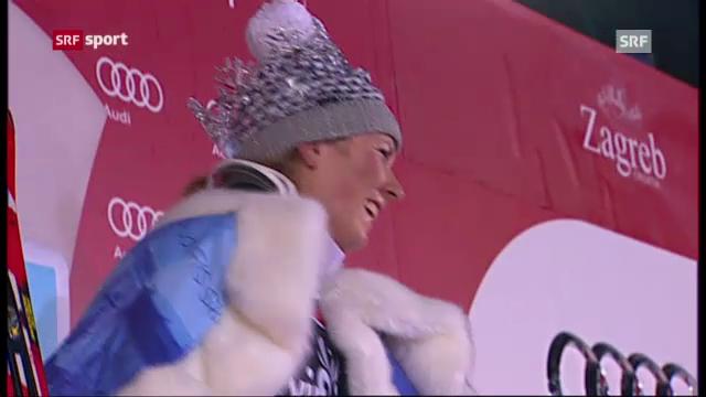 Ski: Frauenslalom Zagreb («sportaktuell»)