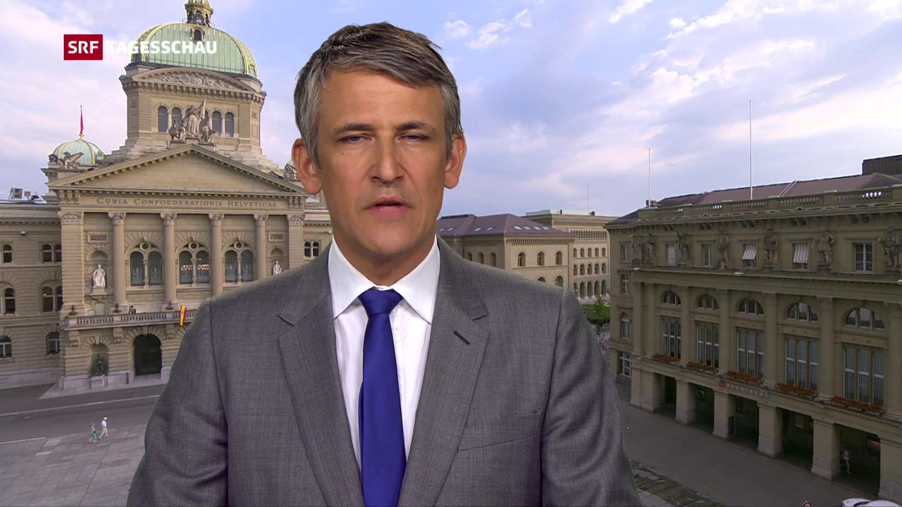 Einschätzungen von Bundeshausredaktor Christoph Nufer.