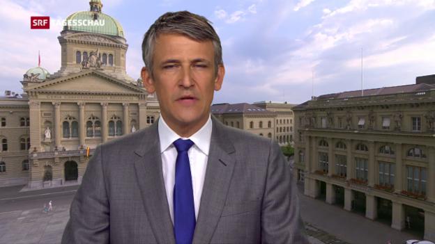Video «Einschätzungen von Bundeshausredaktor Christoph Nufer.» abspielen