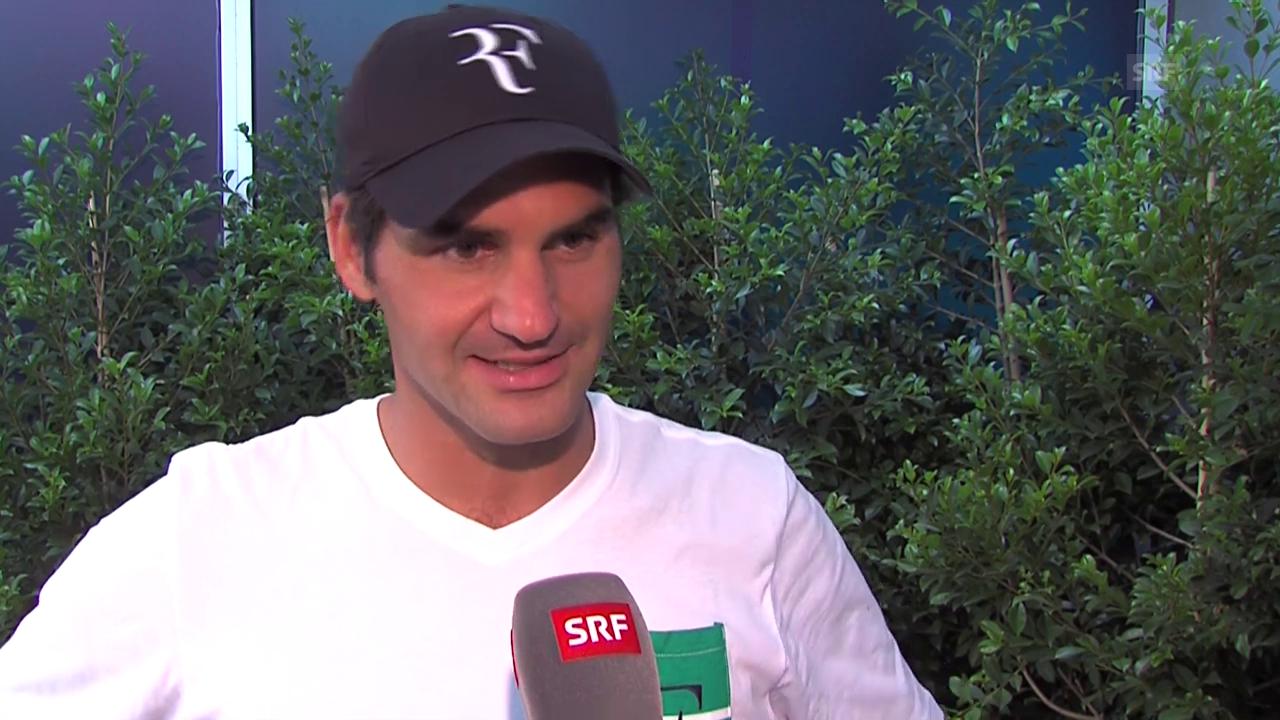 Interview mit Roger Federer vor den Australian Open