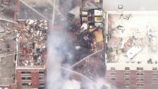 Video «Gasexplosion in New York» abspielen