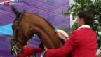 Video «Reiten: Dopingschatten über Steve Guerdat» abspielen