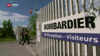 Video «Katerstimmung wegen Bombardier» abspielen