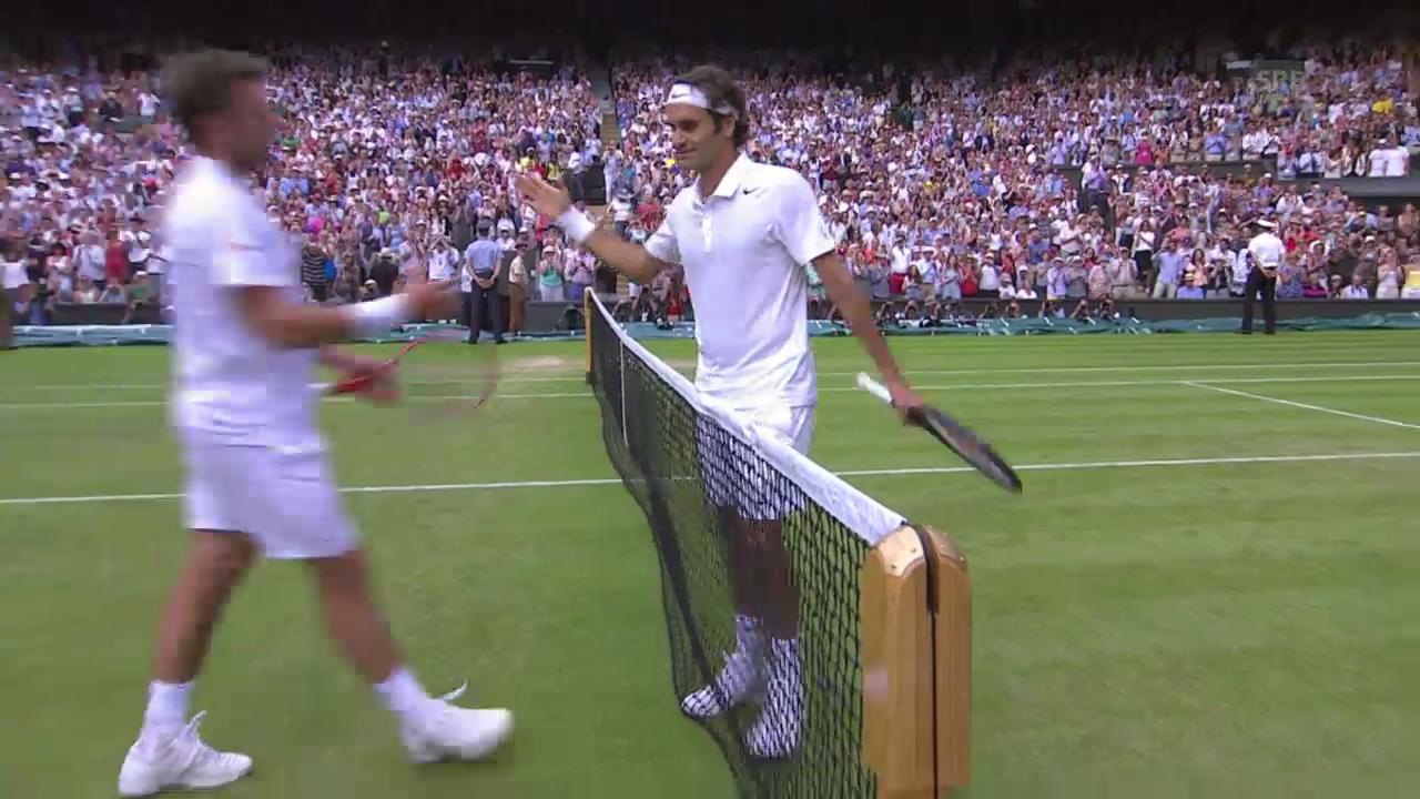 Tennis: Federer-Wawrinka, die besten Ballwechsel