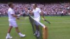 Video «Tennis: Federer-Wawrinka, die besten Ballwechsel» abspielen