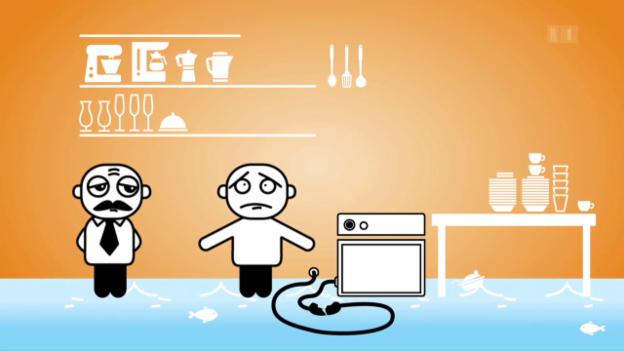 Video «Geschirrspüler unbeaufsichtigt laufen lassen: «Darf man das?»» abspielen