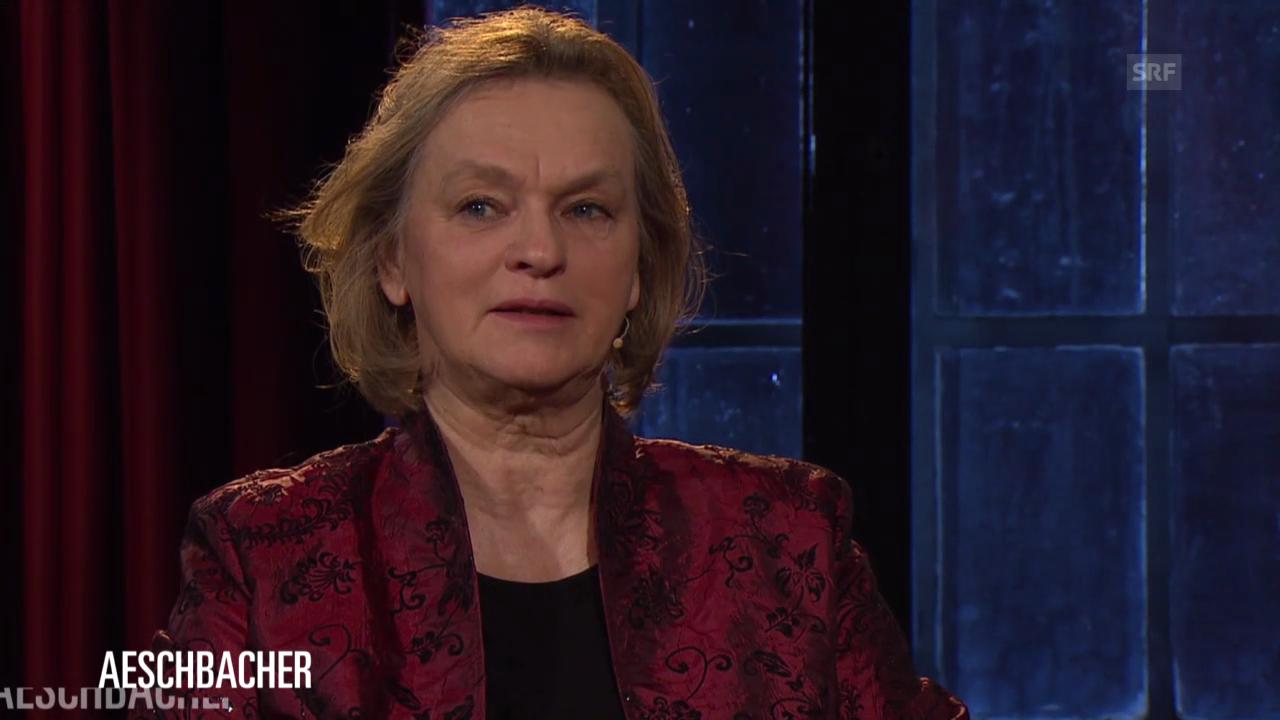 Elke Heidenreich im SRF-«Literaturclub»
