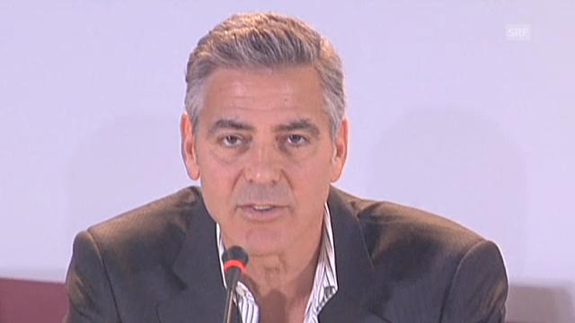George Clooney und Sandra Bullock in Venedig