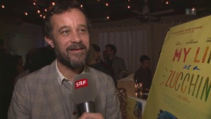 Video «Schweizer Filmcrews: Feiern vor den Oscars» abspielen