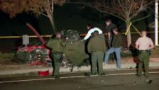 Video «Der Unfallort von Paul Walker (Video ohne Ton)» abspielen