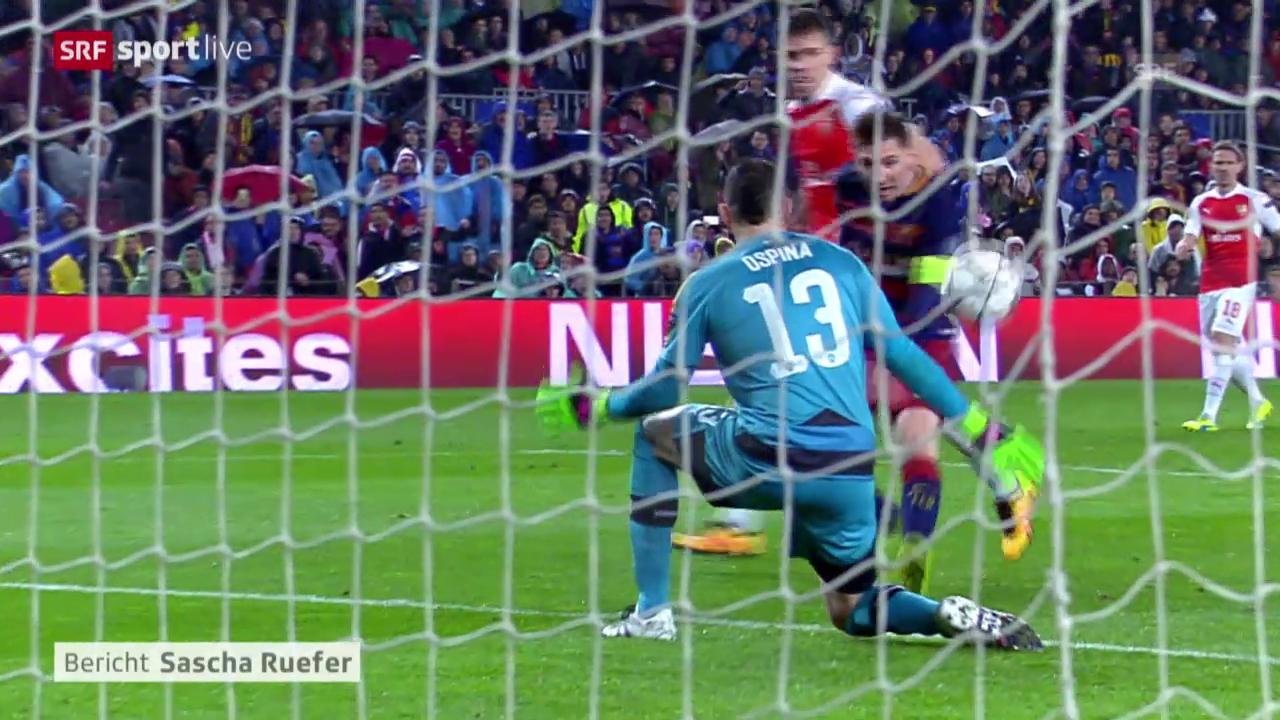 Barcelona besiegelt Arsenals Out
