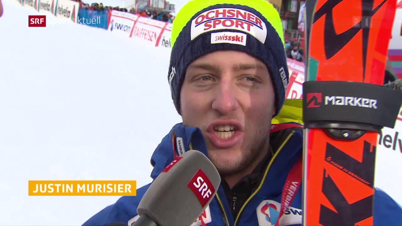 Swiss-Ski-Fahrer enttäuschen in Adelboden