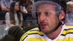 Video «Roman Josi & Mark Streit: humorvolles Benefiz-Duell» abspielen