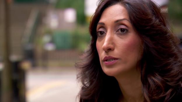 Video «Shazia Mirza kauft eine schusssichere Weste» abspielen