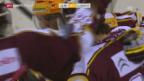 Video «Eishockey: Playoff-Viertelfinals, Spiel 3, Genf-Lugano («sportaktuell», 15.3.14)» abspielen