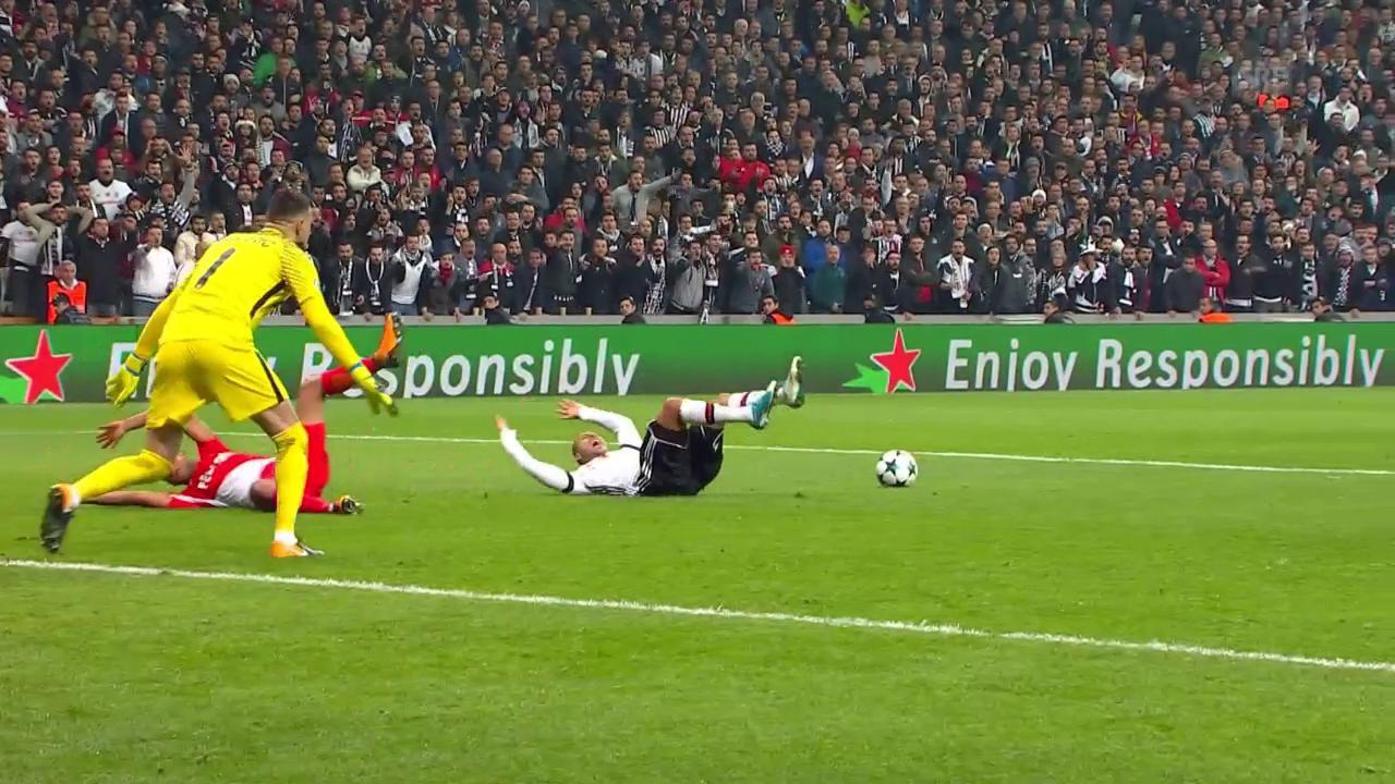 Besiktas spielt gegen Monaco Remis und steht vor dem Achtelfinal-Einzug