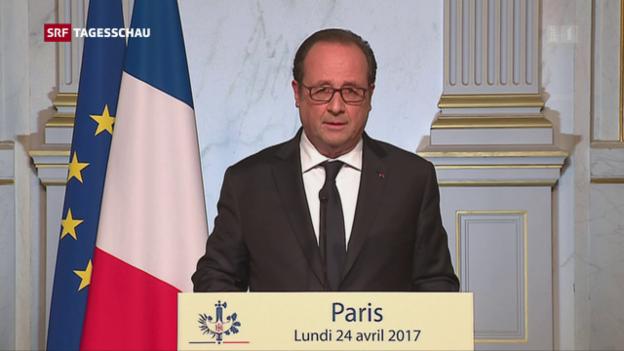 Video «Der Tag nach der Wahl in Frankreich» abspielen
