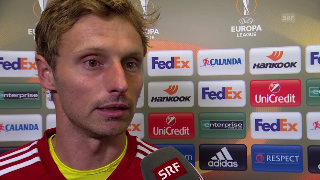 Fussball: Europa League, 3. Spieltag, Basel - Belenenses, Interview mit Germano Vailati