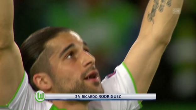 Video «Rodriguez trifft vom Punkt zum 1:0» abspielen