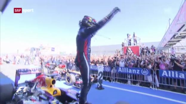 Video «Formel 1: GP von Deutschland («sportpanorama»)» abspielen