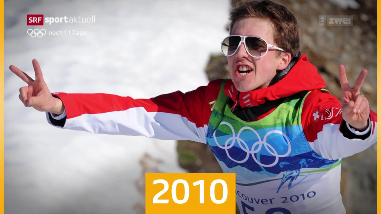 Ammanns Olympia-Meilensteine – heute 2010