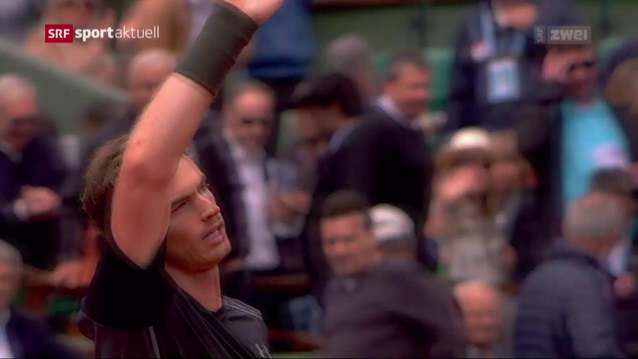 Murray mühevoll, Djokovic und Nadal problemlos