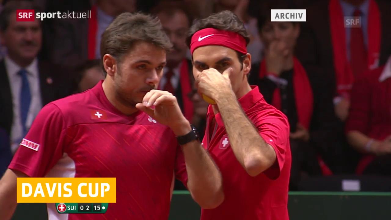 Tennis: Davis Cup, Verzicht Federer und Wawrinka