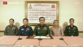 Video «Militärputsch in Thailand» abspielen