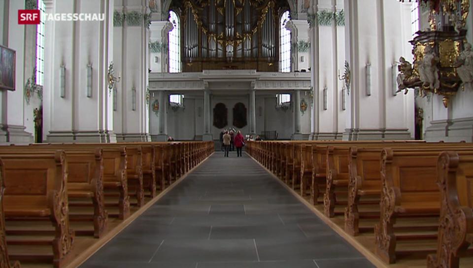 Austrittswelle in Landeskirchen