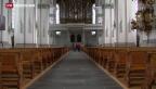 Video «Austrittswelle in Landeskirchen» abspielen