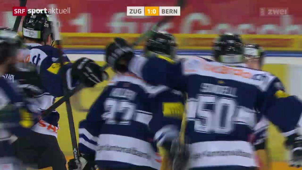 Eishockey: Zug - Bern