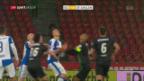 Video «GC beendet gegen St. Gallen eine Phase mit 5 sieglosen Spielen» abspielen