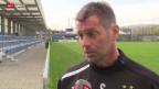 Video «SL: GC-Trainer Skibbe vor dem Zürcher Derby» abspielen