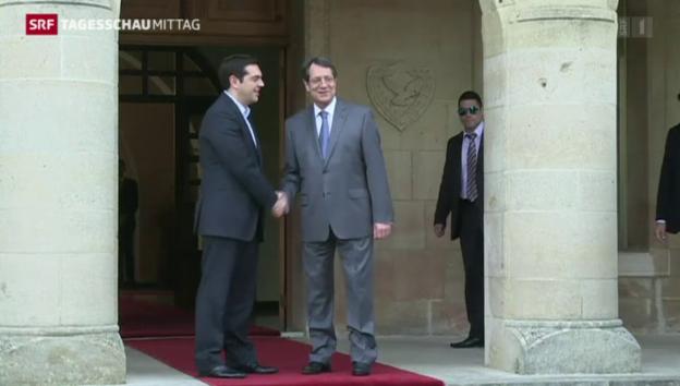 Video «Tsipras beginnt seine Europatour» abspielen
