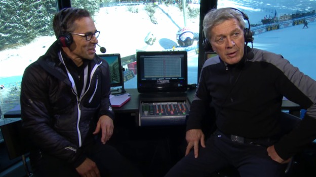 Video «Ski: Weltcup Wengen, Thesen Russi/Hüppi Teil 1» abspielen