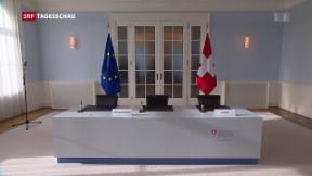 Video «Schweizer Bevölkerung goutiert Europapolitik des Bundesrates» abspielen