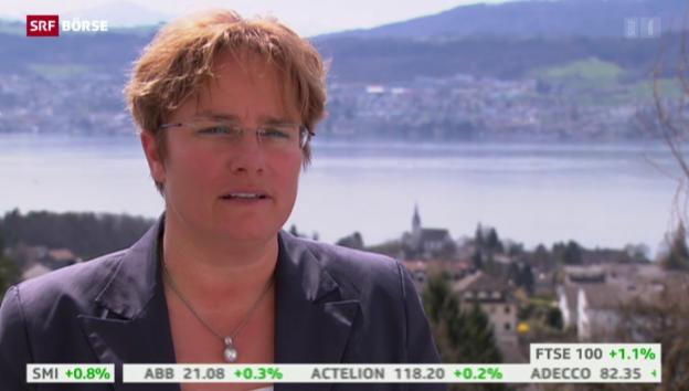 Video «SRF Börse vom 10.04.2015» abspielen