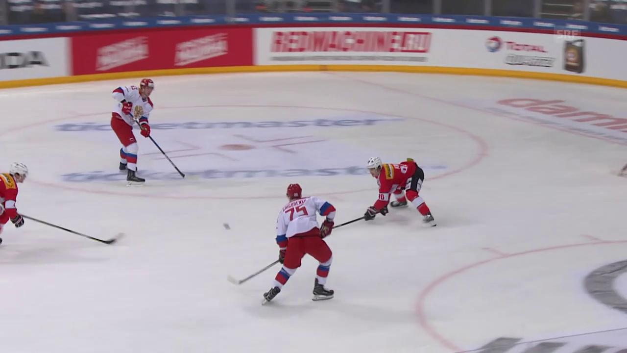 Die Schweiz verliert auch das letzte Spiel am Karjala-Cup