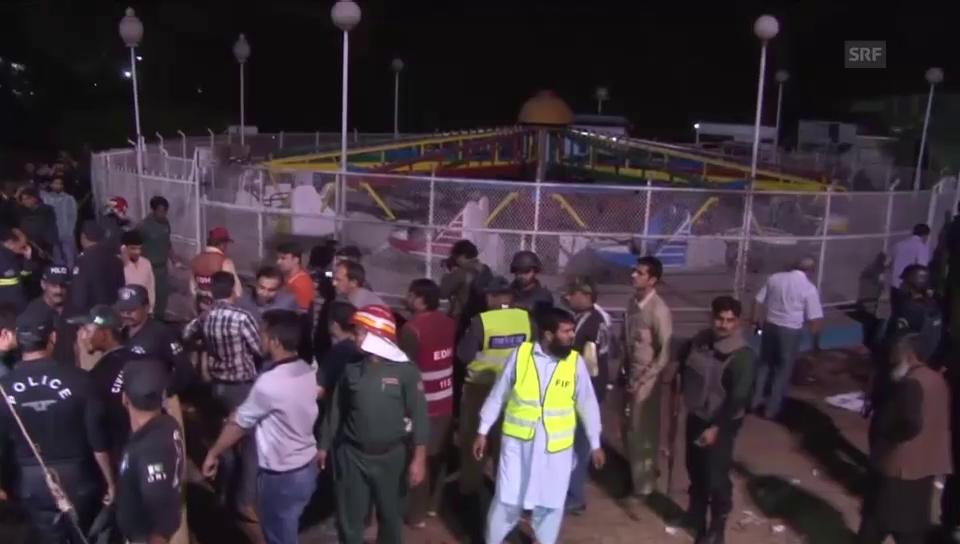 Anschlag auf Rummelplatz in Pakistan (unkomm.)